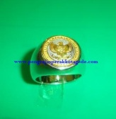 cincin logo, cincin nama, cincin kesatuan, cincin stempl