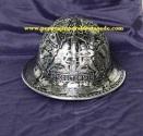 helm ukir, helm pt total, helm tatah, helm perak, kerajinan helm Kotagede, helm alumunium, helm tembaga, helm kuningan